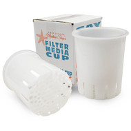 "DUAL 7"" High Flow Filter Media Cups (CLEAR) - Generic"