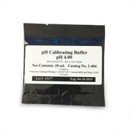 pH 4.00 Calibrating Buffer (Single Pack) - Neptune Systems