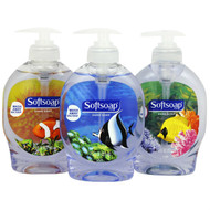 Liquid Hand Soap, Saltwater Aquarium (Set of 3) - (7.5 oz) - Softsoap