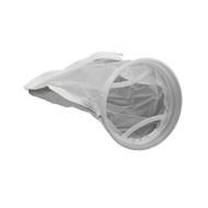 "7"" x 16"" Mesh Filter Bag w/ External Ring - 200 Micron"