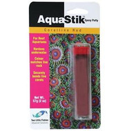 AquaStik Red Coral Epoxy (2 oz) - Two Little Fishies