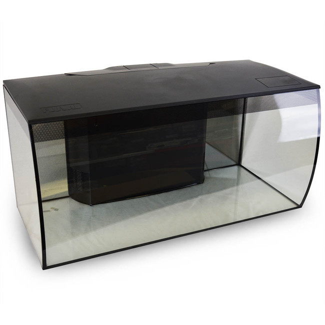 flex aquarium kit 123 l 32 5 us gal black fluval
