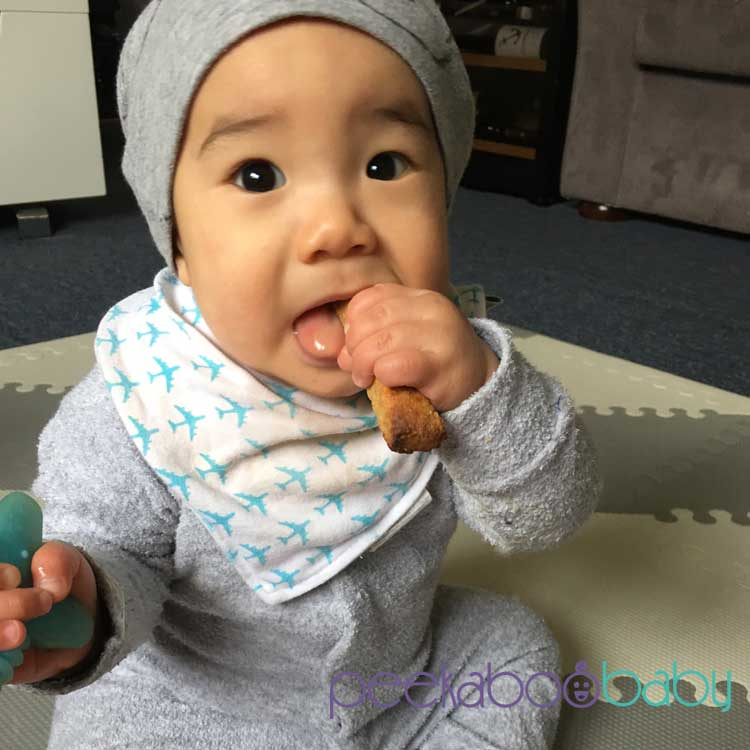 Diy Homemade Teething Rusks Peekaboo Baby