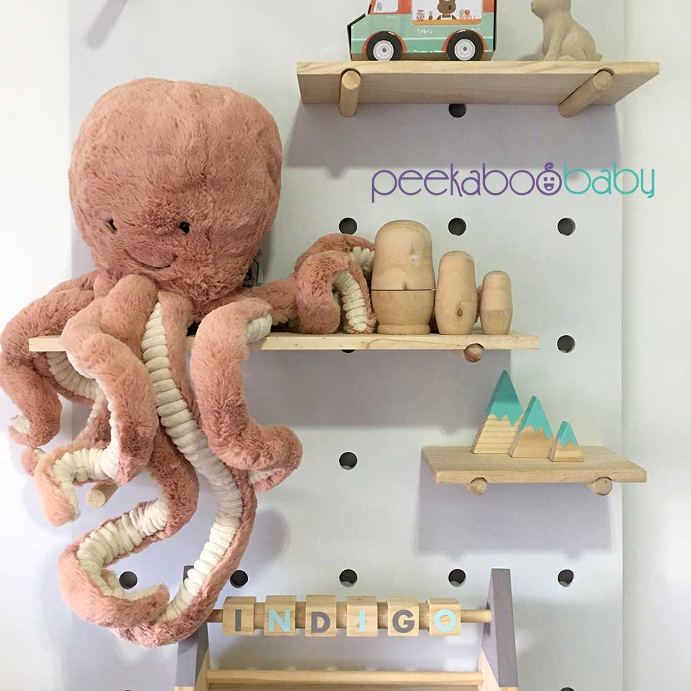 Introducing Jellycat Odell The Octopus Peekaboo Baby