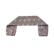 Pram/Stroller Handle Bar Cover - Grey Dragonfly