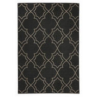 Casablanca Charcoal Indoor/Outdoor Rug