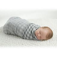 Lulujo Baby Reversible Muslin Cloth - Grey