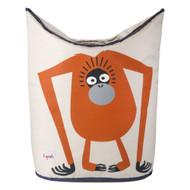 3 Sprouts Laundry Hamper : Orangutan