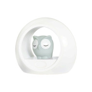 Lou the Owl Sound Activation Night Light - Grey - ZAZU