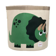 3 Sprouts Storage Bin : Green Dinosaur