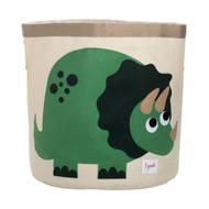 3 Sprouts Storage Bin : Green Dinosaur