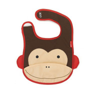 Skip Hop Monkey Zoo Fold Away Bib