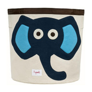 3 Sprouts Storage Bin : Blue Elephant
