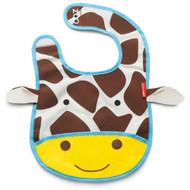 Skip Hop Giraffe Zoo Fold Away Bib