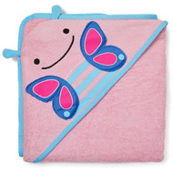 Skip Hop Zoo Kids Terry Hooded Towel - Butterfly