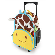 Skip Hop Giraffe Roll Along Luggage Bag