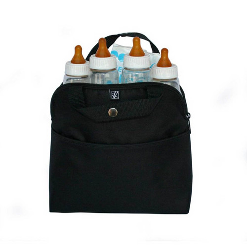 Baby J.L.Childress 4 Bottle Cooler Bag - Black