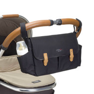 Storksak Travel Stroller Caddy Organiser - Black