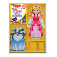 Melissa & Doug Princess Elise Magnetic Doll Dress-Up