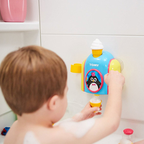 Tomy Foam Ice cream Cone Factory Bath Toy