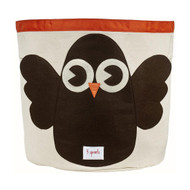 3 Sprouts Storage Bin : Brown Owl