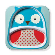 Skip Hop Owl Zoo Divided Plate