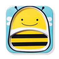 Skip Hop Bee Zoo Toddler Divided Plate