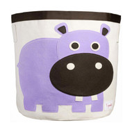 3 Sprouts Storage Bin Decor : Purple Hippo