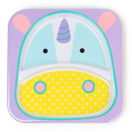 Skip Hop Unicorn Zoo Divided Plate