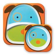 Skip Hop Dog Zoo Plate & Bowl Set Online