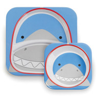 Skip Hop Shark Zoo Plate & Bowl Set