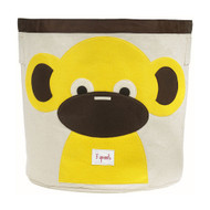 3 Sprouts Storage Bin : Yellow Monkey