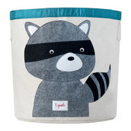 3 Sprouts Toy Storage Bin : Grey Racoon