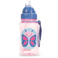 Skip Hop Butterfly Zoo Straw Bottle