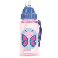 Skip Hop Butterfly Zoo Straw Bottle