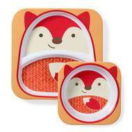 Skip Hop Fox Zoo Plate & Bowl Set