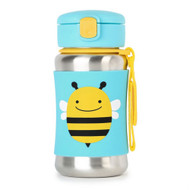 Skip Hop Bee Stainless Steel Straw Bottle