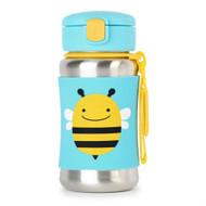 Skip Hop Bee Stainless Steel Straw Bottle