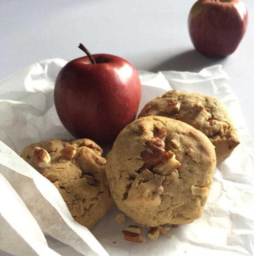 Milk & Cookies by Jewels Lactation Cookies  Apple Crumble