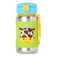 Skip Hop Giraffe Stainless Steel Straw Bottle