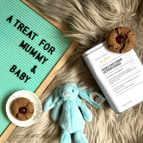 Breastfeeding Lactation Cookies & Jellycat Bunny Gift Set