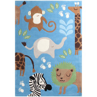 In the Jungle Kids Rug  - Nursery Decor