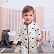 ergoLayers Cotton Long Sleeve Baby Onesie 0.2 TOG