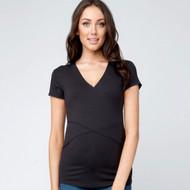 Ripe Maternity Embrace Nursing Tshirt - Tar