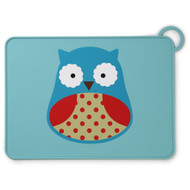 Skip Hop Owl Fold & Go Silicone Placemat