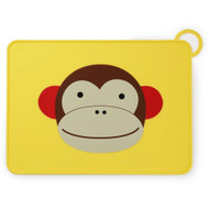 Skip Hop | Monkey Fold & Go Silicone Placemat