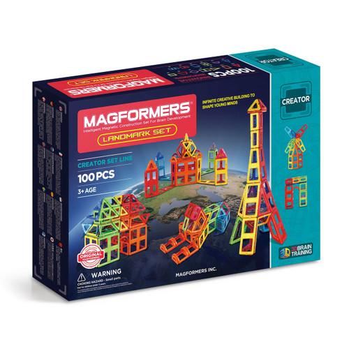 Magformers Construction 100 Piece Landmark Set