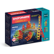 Magformers Construction 100 Piece Landmark Set