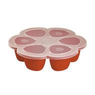 Beaba Silicone Multiportions Tray 6 x 150ml - Paprika