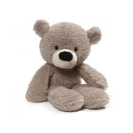 Gund Fuzzy Plush Teddy Bear : Grey